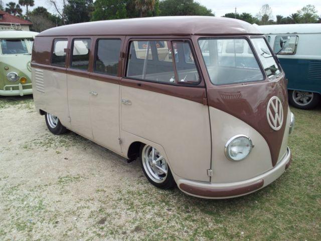 1952 Vw Barndoor Split Window Bus For Sale Photos Technical