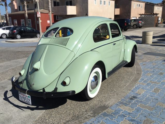 1952 vw beetle split window classic for sale photos technical specifications description. Black Bedroom Furniture Sets. Home Design Ideas