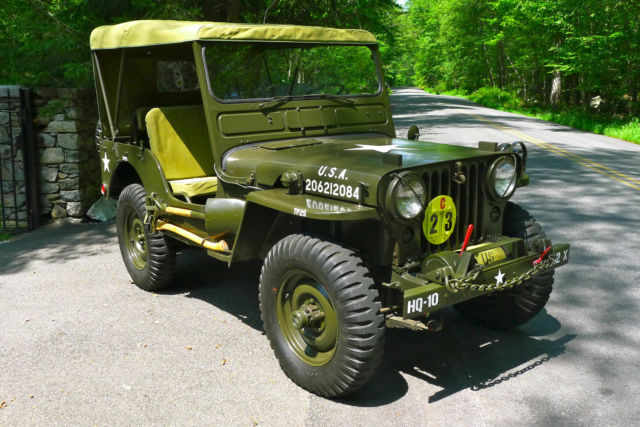 1952 Willys Willys M38