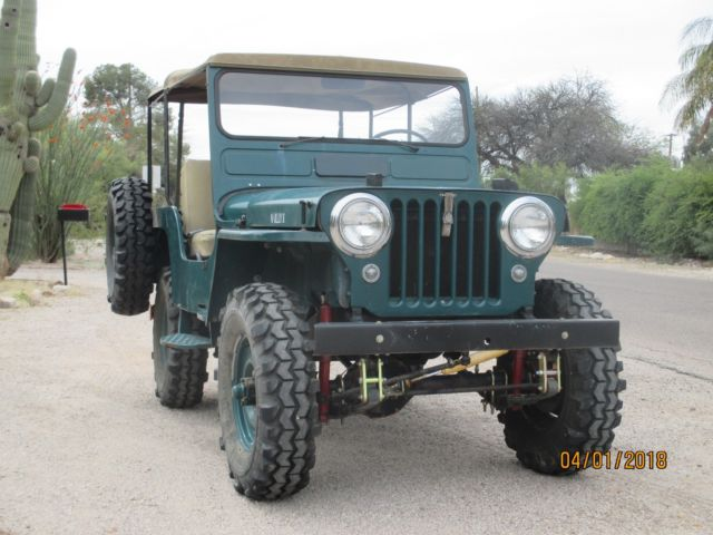 1952 Willys CJ2A CJ3A