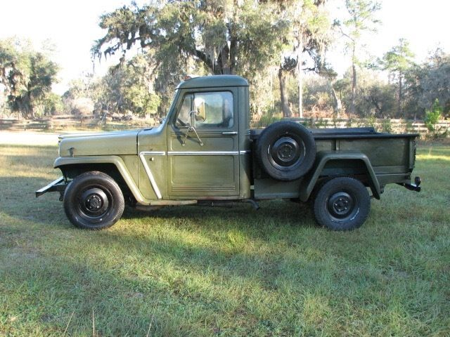 1952 Willys four wheel drive Pickup for sale: photos