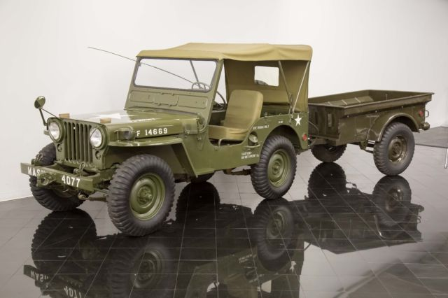1952 Willys Model 38 Truck Jeep M38 4x4