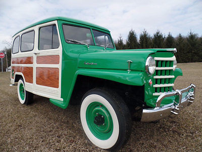 1952 Jeep Willy's Wagon