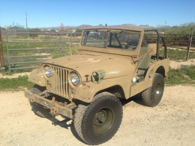 1952 Willys 439 M38-A1
