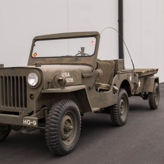 1952 Willys Military