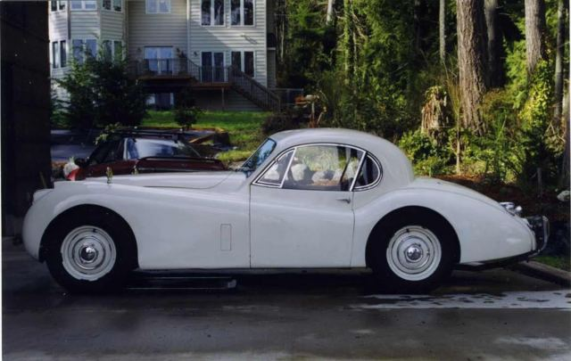 1952 Jaguar XK XK-120 Fixed Head Coupe