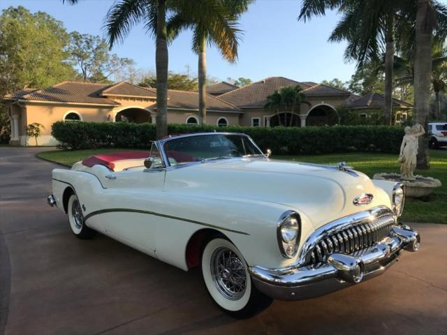 1953 Buick Skylark Roadmaster Automatic 2 Door Convertible For Sale