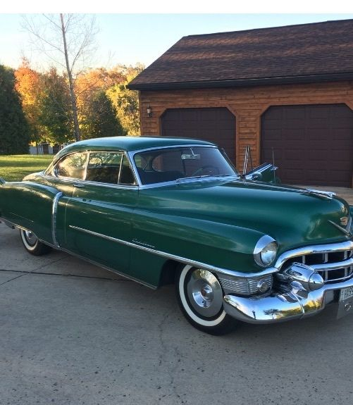1953 Cadillac 2 Door Coupe For Sale: Photos, Technical