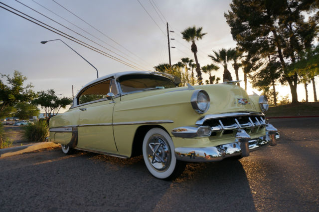 1953 Chevrolet Bel Air Hard Top Early 1954 235ci 6 Cyl Engine Chevy