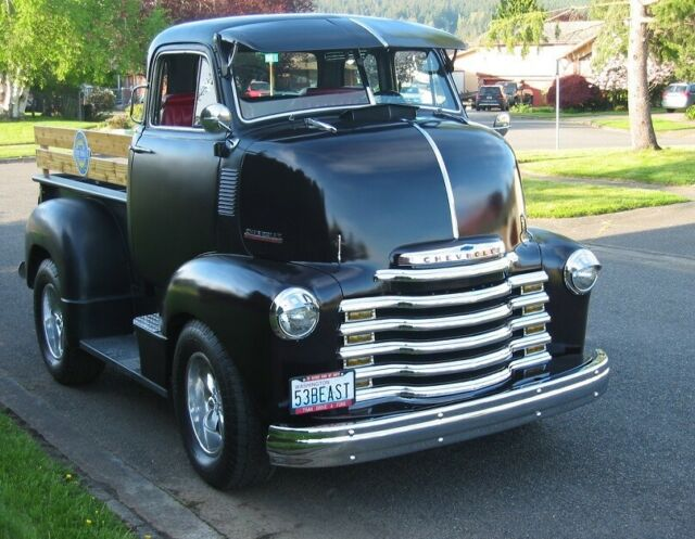 1953 Chevrolet COE Cab Over Engine Truck - One of the first
