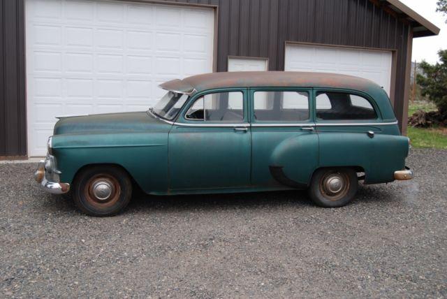 1953 Chevrolet Station Wagon Solid Original Runs And Drives