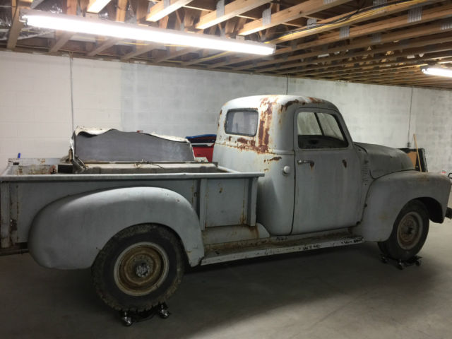 1953 Chevrolet Truck 3100 3600 Rat Rod Shop Truck Project