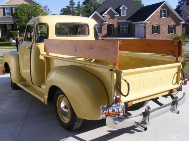 1953 chevy 3100 5 window pickup truck runs great for for 1953 chevy truck for sale 5 window