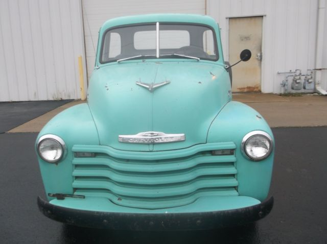 1953 Green Chevrolet Other Pickups Pickup with Brown interior