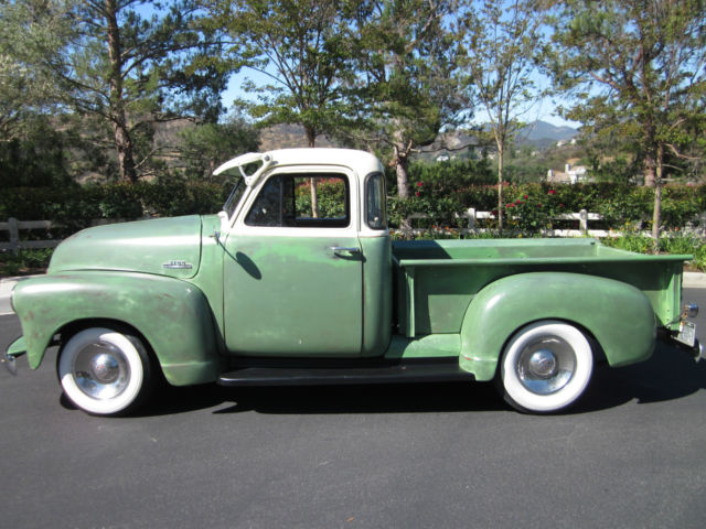 1953 chevy 3100 pickup deluxe 5 window cab all original for 1953 5 window chevy truck for sale