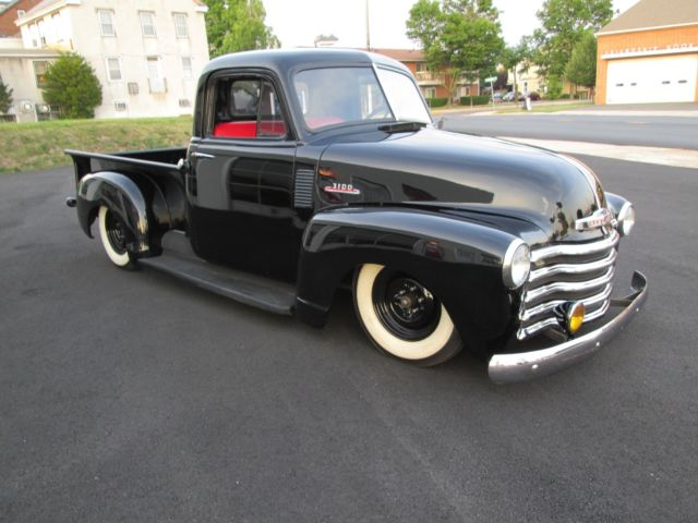 1953 chevy truck 3100 short bed pickup air bagged for sale photos technical specifications. Black Bedroom Furniture Sets. Home Design Ideas