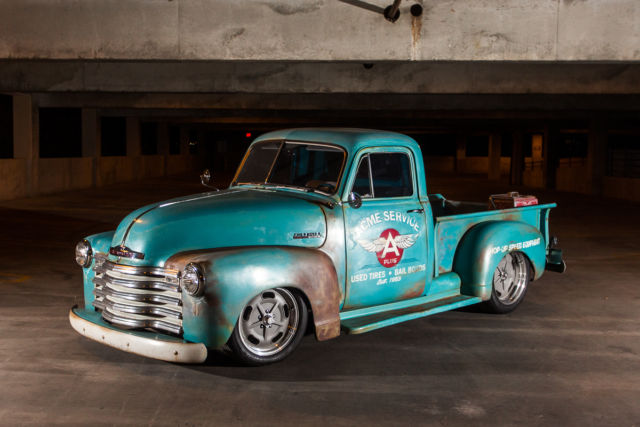 1953 chevy truck c10 street rat hot rod ac new motor new interior 3100 for sale photos