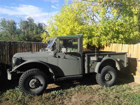 1953 DODGE M37 4X4 MILITARY POWER WAGON for sale: photos, technical