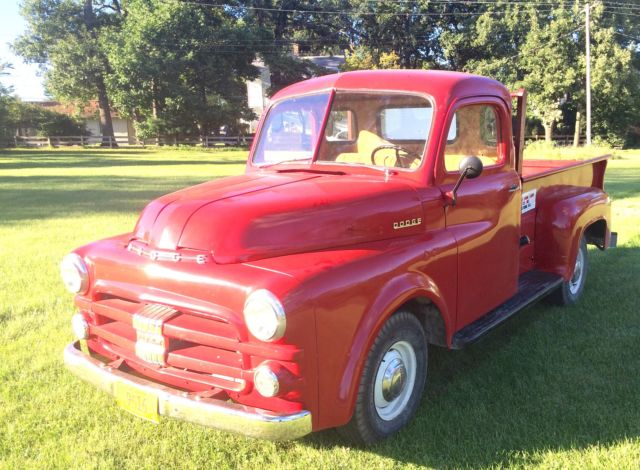 1953 Dodge Other Pickups B4-C