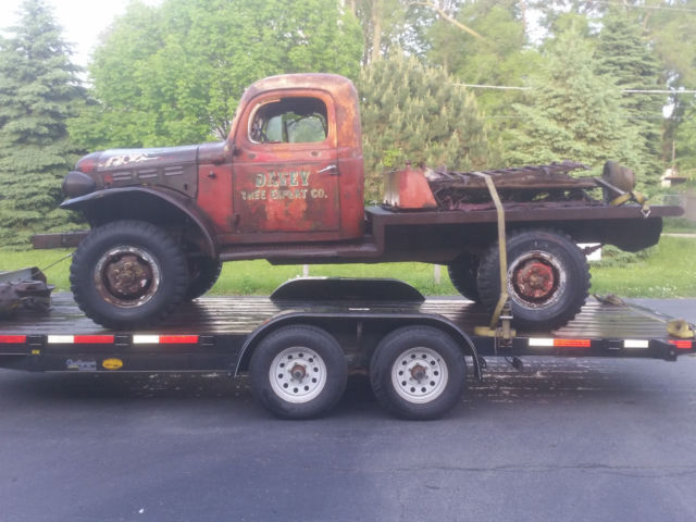 1953 dodge power wagon b 4pw 126 for sale photos technical. Cars Review. Best American Auto & Cars Review