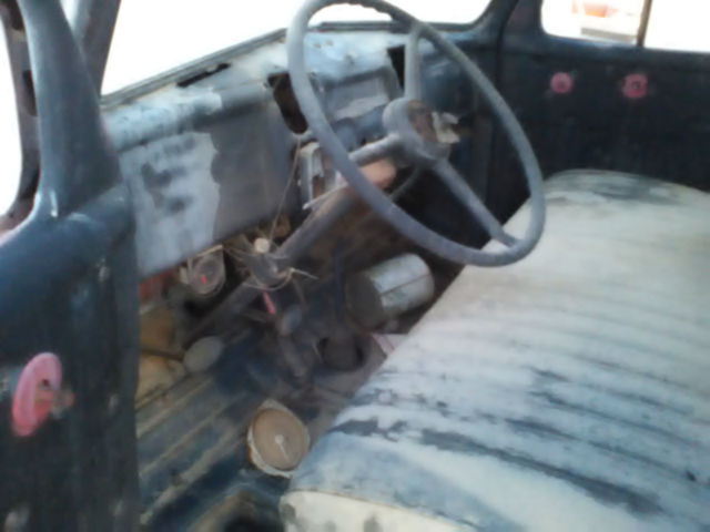 1953 Dodge Truck Pilothouse 1 ton flat/stake bed in nice ...  1953 Dodge Flatbed Truck