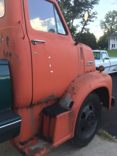 1953 ford c600 cabover truck for sale photos technical specifications description. Black Bedroom Furniture Sets. Home Design Ideas
