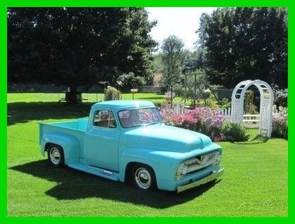 "1953 Ford F-100 All Steel, 2.5"" Chopped Top, Restored"
