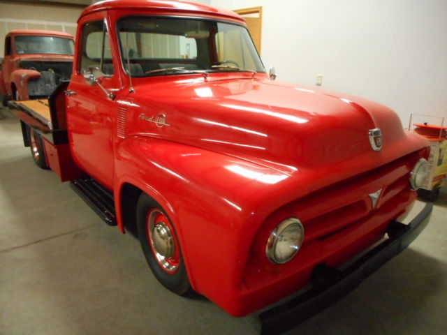 1953 ford f 100 custom flatbed for sale photos technical 1972 Ford 4x4 Flatbed 1953 ford f 100