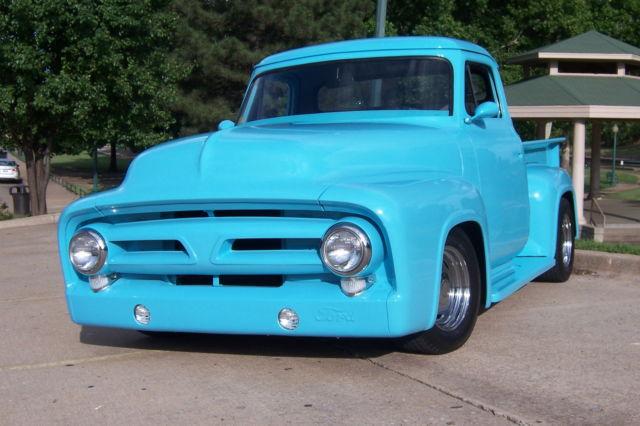 1953 ford f 100 pickup chop top tilt hood roll pans 351 w c 6 9 diff a c for sale photos. Black Bedroom Furniture Sets. Home Design Ideas
