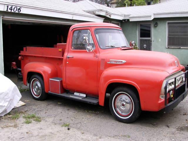 1953 ford f 100 pickup truck 36 000 original miles always garage kept ca truck for sale photos. Black Bedroom Furniture Sets. Home Design Ideas