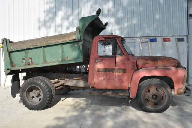 Used Cars Baltimore >> 1953 FORD F600 DUMP TRUCK FLATHEAD V8 4 SPEED RESTORATION PROJECT NO RESERVE for sale: photos ...