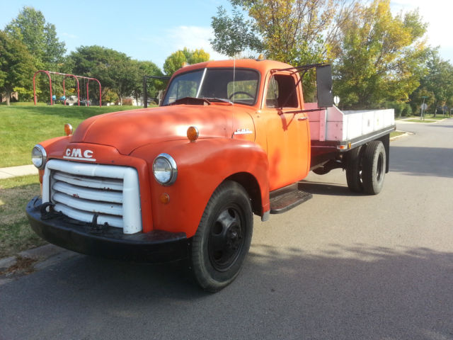 1953 Gmc 2 Ton Flatbed Truck For Sale Photos Technical
