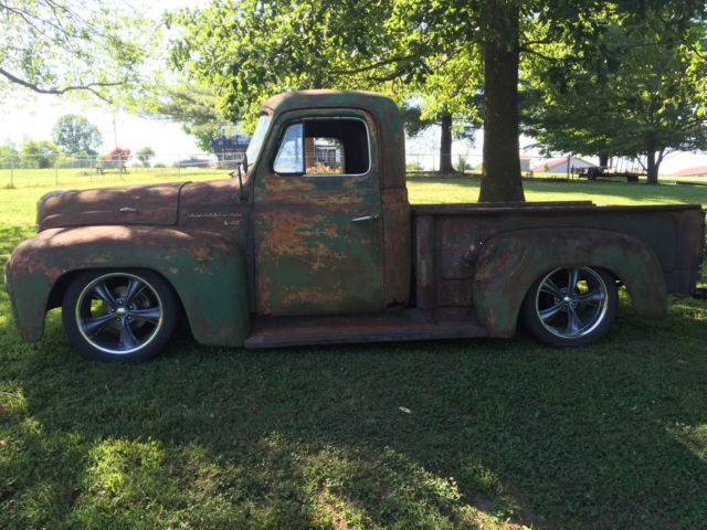 1953 international rat rod truck dodge dakota chassis. Black Bedroom Furniture Sets. Home Design Ideas