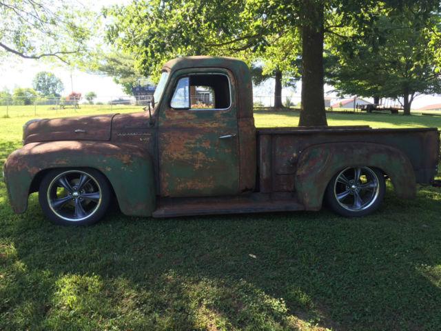 1953 international rat rod truck dodge dakota chassis. Black Bedroom Furniture Sets. Home Design Ideas