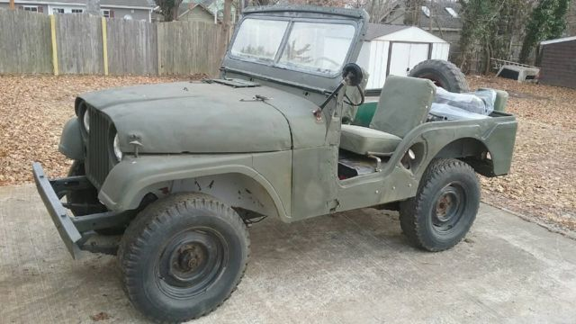 1953 Willys MA