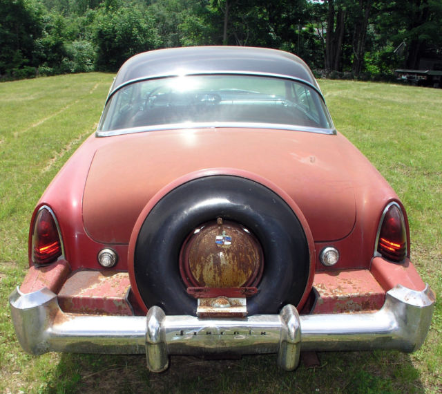 1953 Lincoln Capri 2 Door Coupe With Continental Kit For