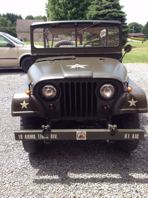 1953 Willys Army M38A1
