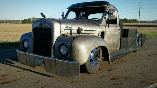 1953 Mack Ratrod Hotrod Bagged Rat Custom Truck Big Block