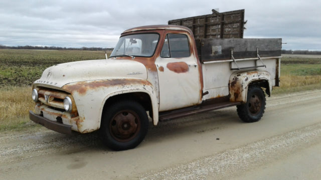 1953 Ford F-100 Base Standard Cab Pickup 2-Door