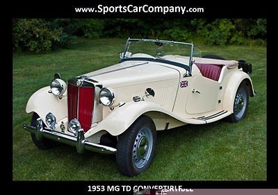 1953 MG T-Series TD CONVERTIBLE