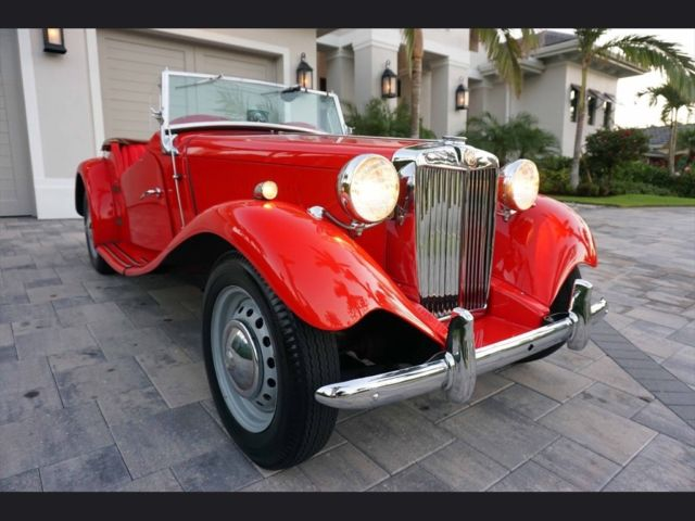1953 Mg Td Midget Roadster Restored Immaculate Exceptional Paint Rhtopclassiccarsforsale: 1953 Mg Td Wiring Diagram At Gmaili.net