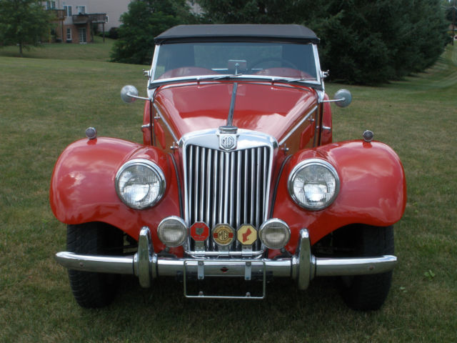 1953 MG T-Series TF