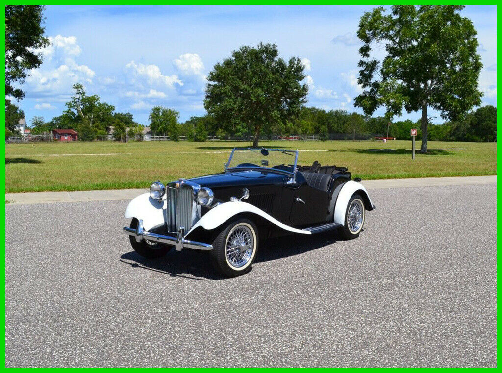 1953 MG TD Real MGTD Steel Body, Matching Engine