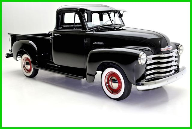 1953 Chevrolet 3100 New Black Paint, 5 Window