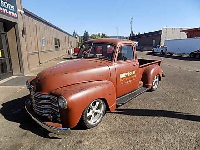 1953 Chevrolet Pickup - Oregon Showroom