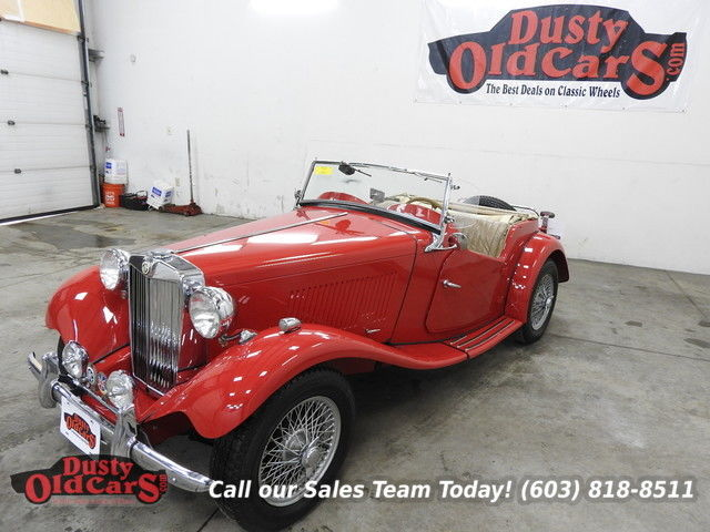 1953 MG T-Series Full Resto Runs Drives Body Int Excel All Metal