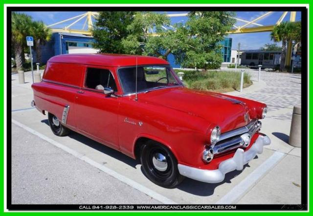 1953 Ford Courier Sedan Delivery