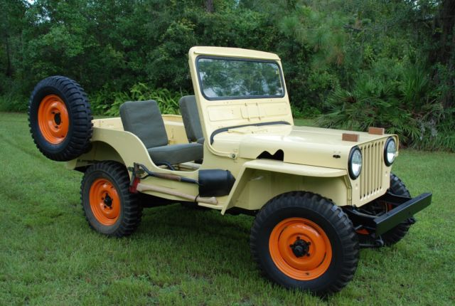 1953 willys jeep converted to turbo diesel for sale: photos