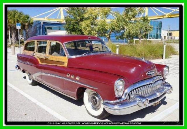 1953 Buick 50 Super Woody