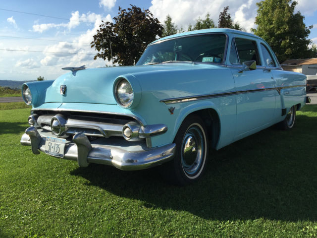 1954 54 ford customline club coupe 2dr 2 door for sale